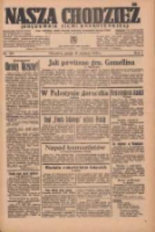 Nasza Chodzież: organ poświęcony obronie interesów narodowych na zachodnich ziemiach Polski 1936.08.14 R.7 Nr188