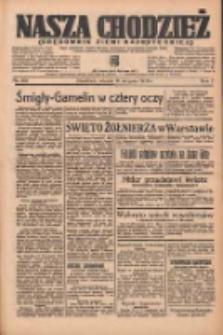 Nasza Chodzież: organ poświęcony obronie interesów narodowych na zachodnich ziemiach Polski 1936.08.18 R.7 Nr190