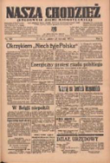 Nasza Chodzież: organ poświęcony obronie interesów narodowych na zachodnich ziemiach Polski 1936.08.25 R.7 Nr196