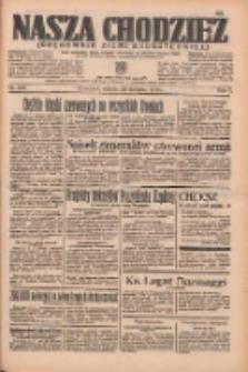 Nasza Chodzież: organ poświęcony obronie interesów narodowych na zachodnich ziemiach Polski 1936.08.24 R.7 Nr200