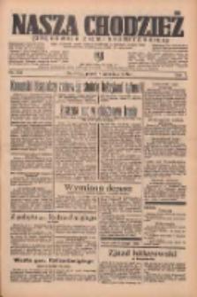 Nasza Chodzież: organ poświęcony obronie interesów narodowych na zachodnich ziemiach Polski 1936.09.04 R.7 Nr205