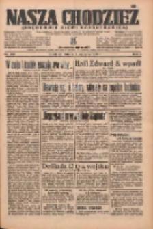 Nasza Chodzież: organ poświęcony obronie interesów narodowych na zachodnich ziemiach Polski 1936.09.05 R.7 Nr206