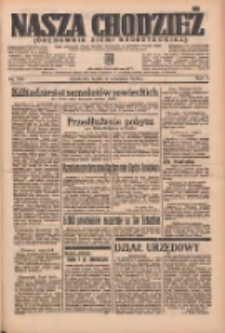 Nasza Chodzież: organ poświęcony obronie interesów narodowych na zachodnich ziemiach Polski 1936.09.09 R.7 Nr209