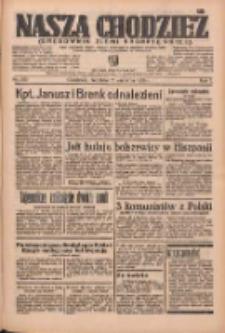 Nasza Chodzież: organ poświęcony obronie interesów narodowych na zachodnich ziemiach Polski 1936.09.13 R.7 Nr213