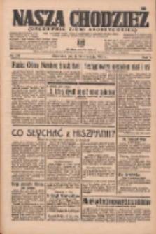 Nasza Chodzież: organ poświęcony obronie interesów narodowych na zachodnich ziemiach Polski 1936.09.18 R.7 Nr217
