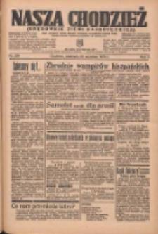 Nasza Chodzież: organ poświęcony obronie interesów narodowych na zachodnich ziemiach Polski 1936.09.20 R.7 Nr219