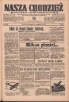 Nasza Chodzież: organ poświęcony obronie interesów narodowych na zachodnich ziemiach Polski 1936.09.29 R.7 Nr226