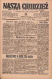 Nasza Chodzież: organ poświęcony obronie interesów narodowych na zachodnich ziemiach Polski 1936.09.30 R.7 Nr227