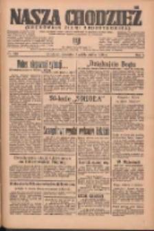 Nasza Chodzież: organ poświęcony obronie interesów narodowych na zachodnich ziemiach Polski 1936.10.01 R.7 Nr228