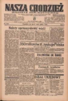 Nasza Chodzież: organ poświęcony obronie interesów narodowych na zachodnich ziemiach Polski 1936.10.03 R.7 Nr230