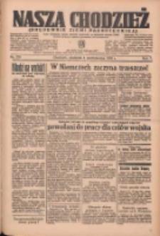 Nasza Chodzież: organ poświęcony obronie interesów narodowych na zachodnich ziemiach Polski 1936.10.04 R.7 Nr231