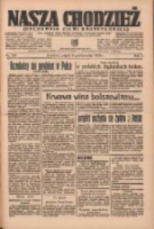 Nasza Chodzież: organ poświęcony obronie interesów narodowych na zachodnich ziemiach Polski 1936.10.09 R.7 Nr235