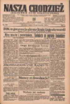 Nasza Chodzież: organ poświęcony obronie interesów narodowych na zachodnich ziemiach Polski 1936.10.10 R.7 Nr236