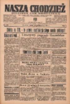 Nasza Chodzież: organ poświęcony obronie interesów narodowych na zachodnich ziemiach Polski 1936.10.13 R.7 Nr238