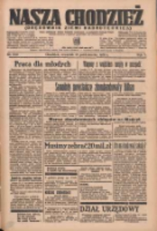 Nasza Chodzież: organ poświęcony obronie interesów narodowych na zachodnich ziemiach Polski 1936.10.15 R.7 Nr240
