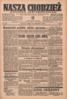 Nasza Chodzież: organ poświęcony obronie interesów narodowych na zachodnich ziemiach Polski 1936.10.16 R.7 Nr241