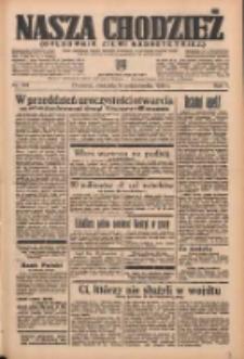 Nasza Chodzież: organ poświęcony obronie interesów narodowych na zachodnich ziemiach Polski 1936.10.18 R.7 Nr243