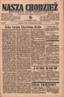 Nasza Chodzież: organ poświęcony obronie interesów narodowych na zachodnich ziemiach Polski 1936.10.28 R.7 Nr251