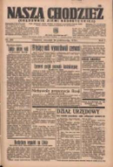 Nasza Chodzież: organ poświęcony obronie interesów narodowych na zachodnich ziemiach Polski 1936.10.29 R.7 Nr252
