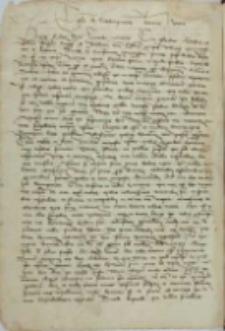 Poggi florentini. Epistola de condempnacione Jeronimi Heretici [ad Leonardum Aretinum]