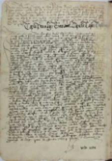 Copia privilegii erectionis capelle castri Gostinensis