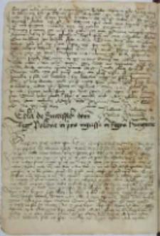 Epistola de successibus domini regis Polonie in primo ingressu in Regnum Hungarie