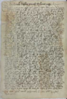 Littera concilii Basiliensis Universis Bohemis missa