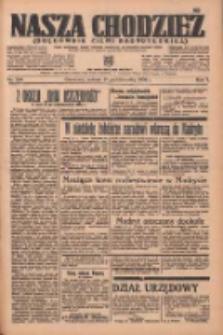 Nasza Chodzież: organ poświęcony obronie interesów narodowych na zachodnich ziemiach Polski 1936.10.31 R.7 Nr254