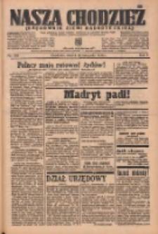 Nasza Chodzież: organ poświęcony obronie interesów narodowych na zachodnich ziemiach Polski 1936.11.10 R.7 Nr262