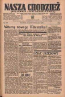 Nasza Chodzież: organ poświęcony obronie interesów narodowych na zachodnich ziemiach Polski 1936.11.12 R.7 Nr264