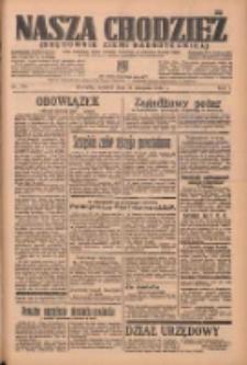 Nasza Chodzież: organ poświęcony obronie interesów narodowych na zachodnich ziemiach Polski 1936.11.19 R.7 Nr270