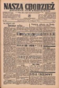 Nasza Chodzież: organ poświęcony obronie interesów narodowych na zachodnich ziemiach Polski 1936.11.22 R.7 Nr273