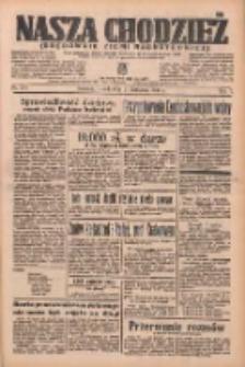 Nasza Chodzież: organ poświęcony obronie interesów narodowych na zachodnich ziemiach Polski 1936.11.24 R.7 Nr274