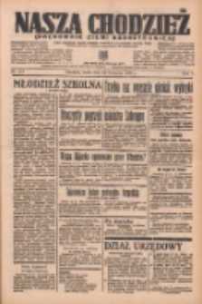 Nasza Chodzież: organ poświęcony obronie interesów narodowych na zachodnich ziemiach Polski 1936.11.25 R.7 Nr275