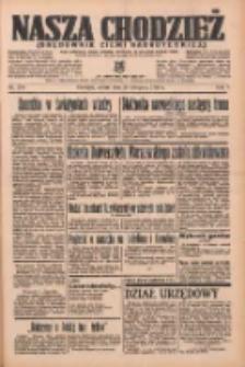 Nasza Chodzież: organ poświęcony obronie interesów narodowych na zachodnich ziemiach Polski 1936.11.28 R.7 Nr278