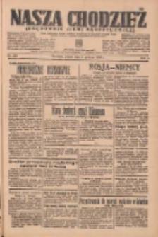 Nasza Chodzież: organ poświęcony obronie interesów narodowych na zachodnich ziemiach Polski 1936.12.04 R.7 Nr283