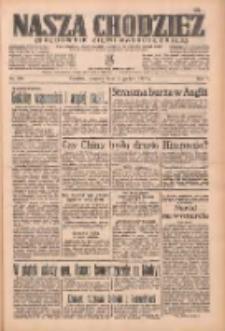 Nasza Chodzież: organ poświęcony obronie interesów narodowych na zachodnich ziemiach Polski 1936.12.17 R.7 Nr293