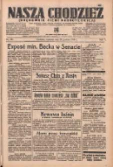 Nasza Chodzież: organ poświęcony obronie interesów narodowych na zachodnich ziemiach Polski 1936.12.20 R.7 Nr296