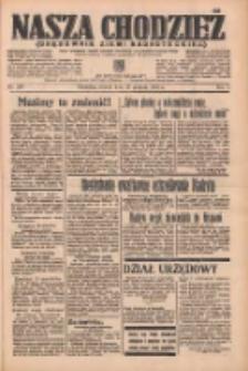 Nasza Chodzież: organ poświęcony obronie interesów narodowych na zachodnich ziemiach Polski 1936.12.22 R.7 Nr297