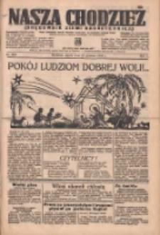 Nasza Chodzież: organ poświęcony obronie interesów narodowych na zachodnich ziemiach Polski 1936.12.25 R.7 Nr300