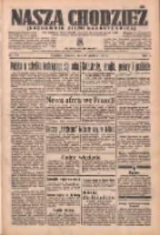 Nasza Chodzież: organ poświęcony obronie interesów narodowych na zachodnich ziemiach Polski 1936.12.31 R.7 Nr303
