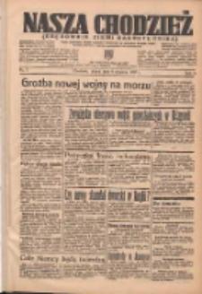 Nasza Chodzież: organ poświęcony obronie interesów narodowych na zachodnich ziemiach Polski 1937.01.08 R.8 Nr5