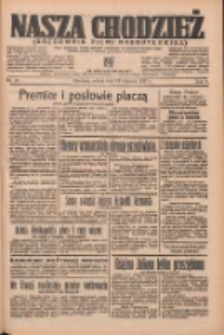 Nasza Chodzież: organ poświęcony obronie interesów narodowych na zachodnich ziemiach Polski 1937.01.16 R.8 Nr7