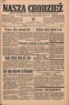 Nasza Chodzież: organ poświęcony obronie interesów narodowych na zachodnich ziemiach Polski 1937.01.20 R.8 Nr15