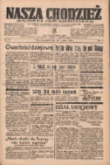 Nasza Chodzież: organ poświęcony obronie interesów narodowych na zachodnich ziemiach Polski 1937.01.22 R.8 Nr17