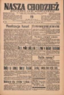Nasza Chodzież: organ poświęcony obronie interesów narodowych na zachodnich ziemiach Polski 1937.01.26 R.8 Nr20