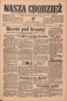 Nasza Chodzież: organ poświęcony obronie interesów narodowych na zachodnich ziemiach Polski 1937.01.27 R.8 Nr21