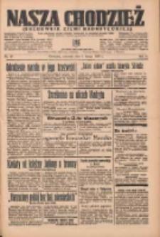 Nasza Chodzież: organ poświęcony obronie interesów narodowych na zachodnich ziemiach Polski 1937.02.04 R.8 Nr27