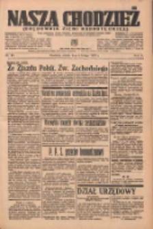 Nasza Chodzież: organ poświęcony obronie interesów narodowych na zachodnich ziemiach Polski 1937.02.06 R.8 Nr29
