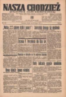 Nasza Chodzież: organ poświęcony obronie interesów narodowych na zachodnich ziemiach Polski 1937.02.16 R.8 Nr37